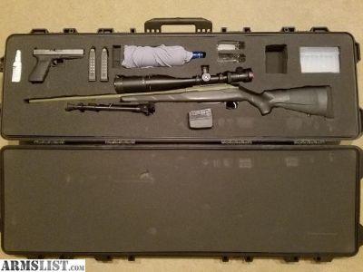 For Sale: Tikka T3 7mm Rem Mag Long Range Package