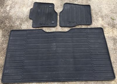 2015 Ford F-150 Rubber Floor Mats