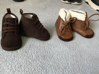 Baby boy shoes size 3 & 4