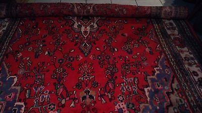 Large Vintage Hand Knotted Persian Area Rug/Carpet