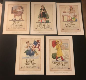American Girl books (molly)