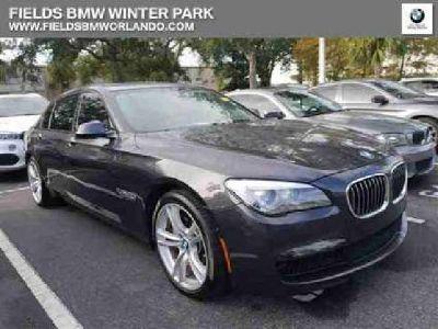 Used 2015 BMW 7 Series 4dr Sdn RWD
