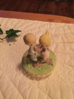 Precious moments candle topper