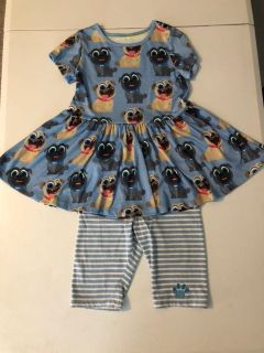 Disney Store Puppy Dog Pals outfit - size 7/8