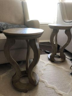 2 Side End Accent Tables