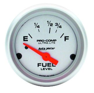 "Sell Auto Meter 4315 Ultra Lite 2 1/16"" Electric Fuel Level Gauge motorcycle in Greenville, Wisconsin, US, for US $64.14"