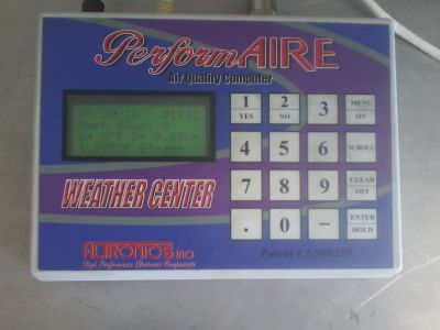 racing weather station