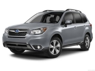 2014 Subaru Forester 2.5i Limited (Ice Silver Metallic)