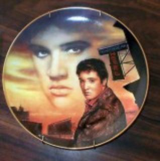 Elvis Collectables Display Plates with Certificates