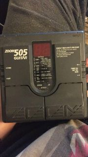 Multi-Effects Guitar Pedal