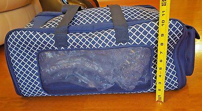 Martha Stewart Pet Carrier Small Dog Cat Travel Tote Petco Animal Airline Bag