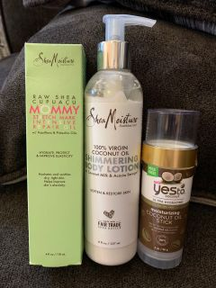 Shea Moisture and Yesto Coconut asking $10 for all