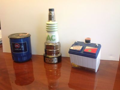 3 Jim Beam Whiskey Decanters