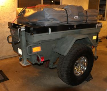 1/4 Ton Military Jeep Camping Trailer M101 M100 M416