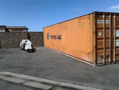 Used HC Shipping Container