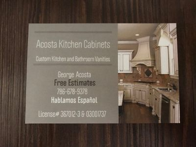 Acosta Kitchen Cabinets