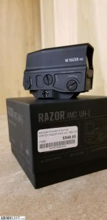 For Sale: Vortex razor AMG UH-1 Holographic sight