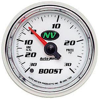 "Purchase AutoMeter 7303 NV 2-1/16"" Boost Vacuum Gauge motorcycle in Suitland, Maryland, United States, for US $105.90"