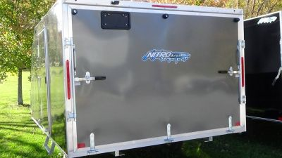 2018 Innovation Nitro 101 x 12 Trail/Touring Trailers Bennington, VT