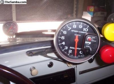 Tach Mount No Mods Required-by Fast Fab