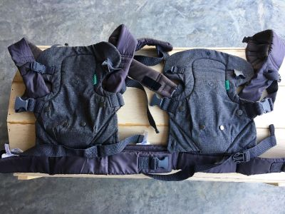 Infantino Flip 4 in 1 Baby Carrier (2 available) $15 ea. Or $25 for both.