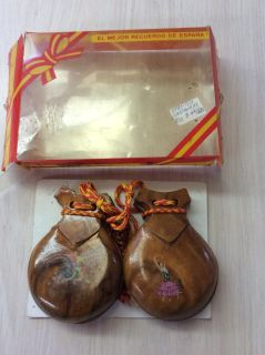 Authentic Spanish Castanets
