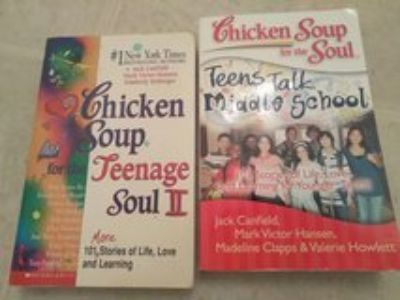 Chicken Soup For The Soul Subj. Teenage and Middle School Stories