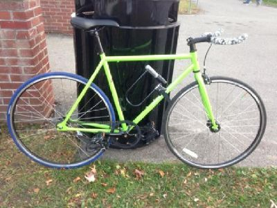 Fixed Gear/Singlespeed Bike 4130 Chromoly 54cm Excellent Condition
