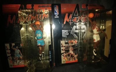 Brand new collectable Michael Jordan Maximum Air figure with card