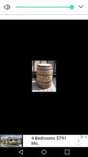Looking for a wooden barrel