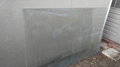 Large 6ft.x4ft. Clear Glass Sheet