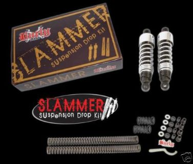 Buy BURLY SLAMMER 4 HARLEY DYNA 91-05 FRONT LOWERING KIT AND SPRINGS REAR SHOCKS motorcycle in Gambrills, Maryland, US, for US $235.95
