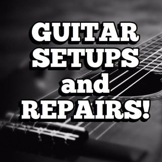 PAY WHAT YOU WANT GUITAR SETUPS AND REPAIRS!!!
