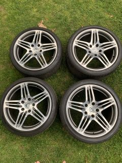 OEM 997 Turbo rims and Potenza S-04 tires