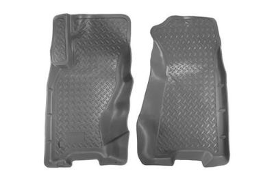 Sell Husky Liners 30602 99-04 Jeep Grand Cherokee Gray Custom Floor Mats 1st Row motorcycle in Winfield, Kansas, US, for US $91.95