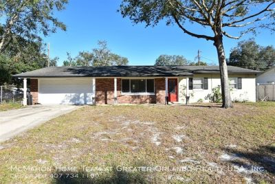 Fern Park/Casselberry area 3br 1.5ba with FENCED YARD and ALL TILE FLOORS!!
