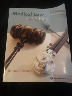 Medical Law and Ethics 3rd Ed.