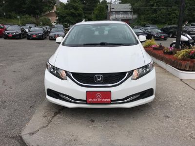 2013 Honda Civic LX (Taffeta White)