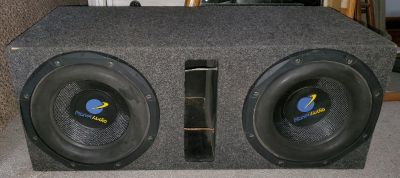 Double Subwoofer Box w/ Subs
