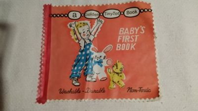 Vintage Baby's First Book - Golden - Washable