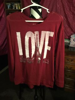 Justice size 14 light weight sweater
