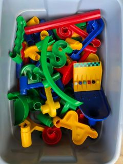 Vintage Discovery Toys Marble Works