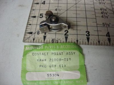 Sell KAWASAKI F8 F11 F81M BISON TUNE UP POINTS 21008-019 POINT NOS VINTAGE motorcycle in Shelbyville, Illinois, US, for US $18.99