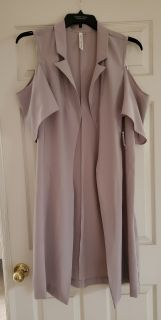 NWT Cold Shoulder Duster!