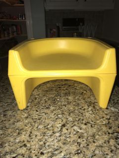 Old fashioned booster seat