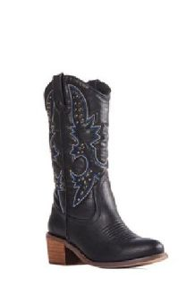 $45 Brand New Black Cowgirl Boots Sz 8