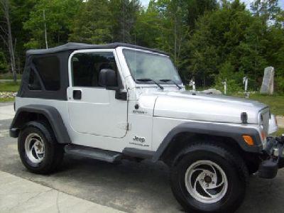 2006 Silver Jeep Wrangler