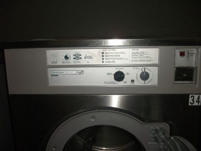 Coin Operated Wascomat W675 75 LB Washer/Extractor 3ph Used