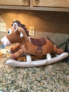Small rocking horse with sound
