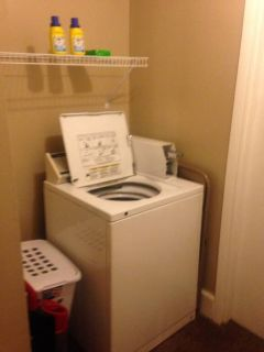 Wanted Coined operating washer and dryer
